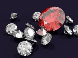 Diamante-rosso